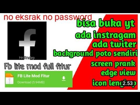 Bagi Bagi Fb Lite Mod Fitur Keren No Pw Youtube