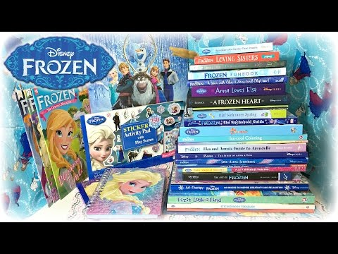 Disney Frozen Novels, Coloring Books, Stickers & Magazines Update