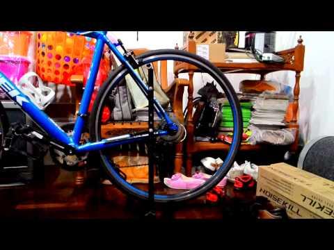 ตั้งล้อจักรยานหมอบใหม่ Trek 1.2 2014 ลื่นๆ