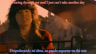 Cinderella-Don't know what you got with lyrics