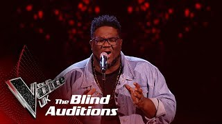 Roger Samuels' 'Footprints In The Sand' | Blind Auditions | The Voice UK