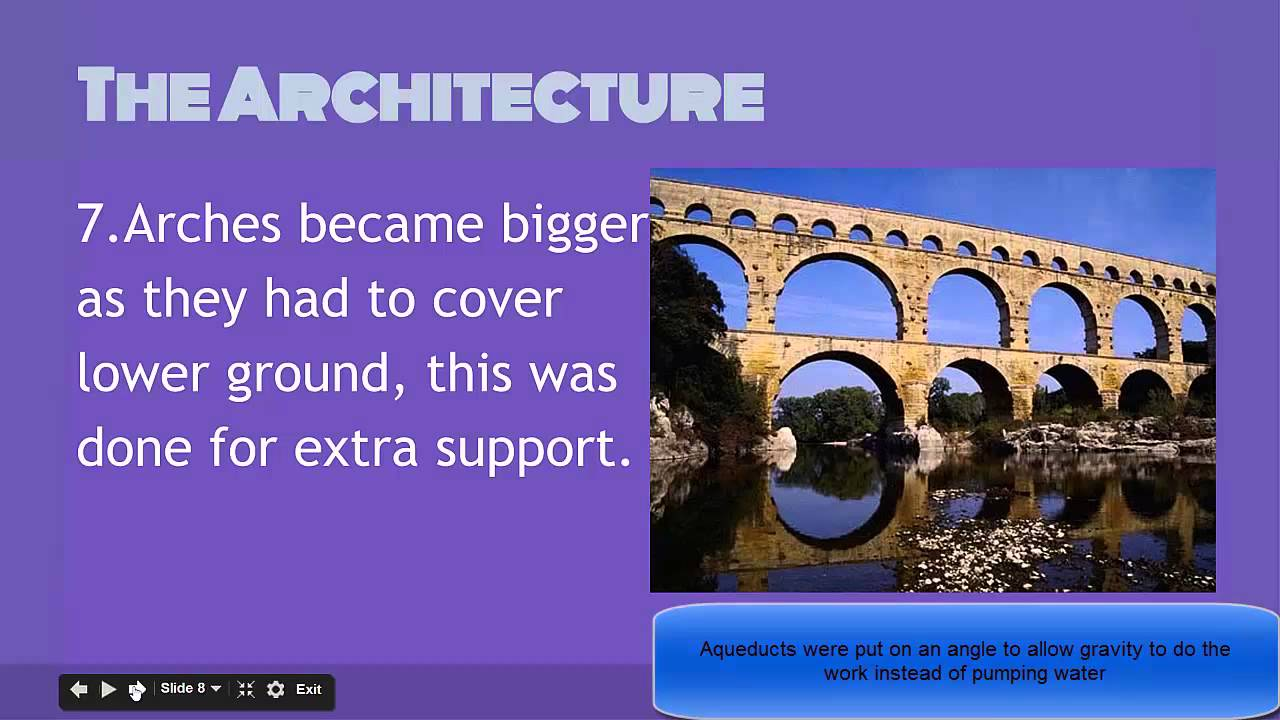 ancient rome aqueducts facts