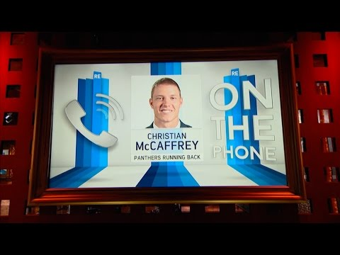 Carolina Panthers RB Christian McCaffrey Dials in to The RE Show - 5/11/17