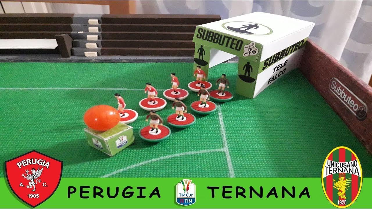 Perugia - Ternana Highlights Subbuteo Coppa Italia - YouTube