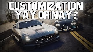 Customization/Personalization In Need for Speed - Yay or Nay?