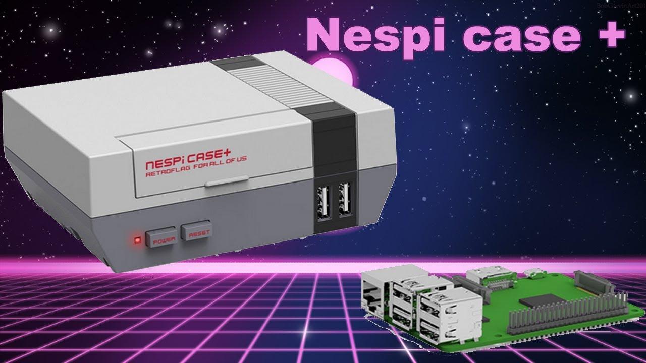 Test Boitier Raspberry Pi Nespi Case Un Boitier Mini Nes Youtube