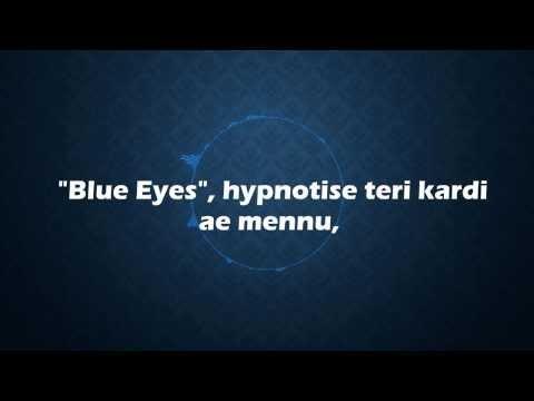 honey singh new song blue eyes lyrics