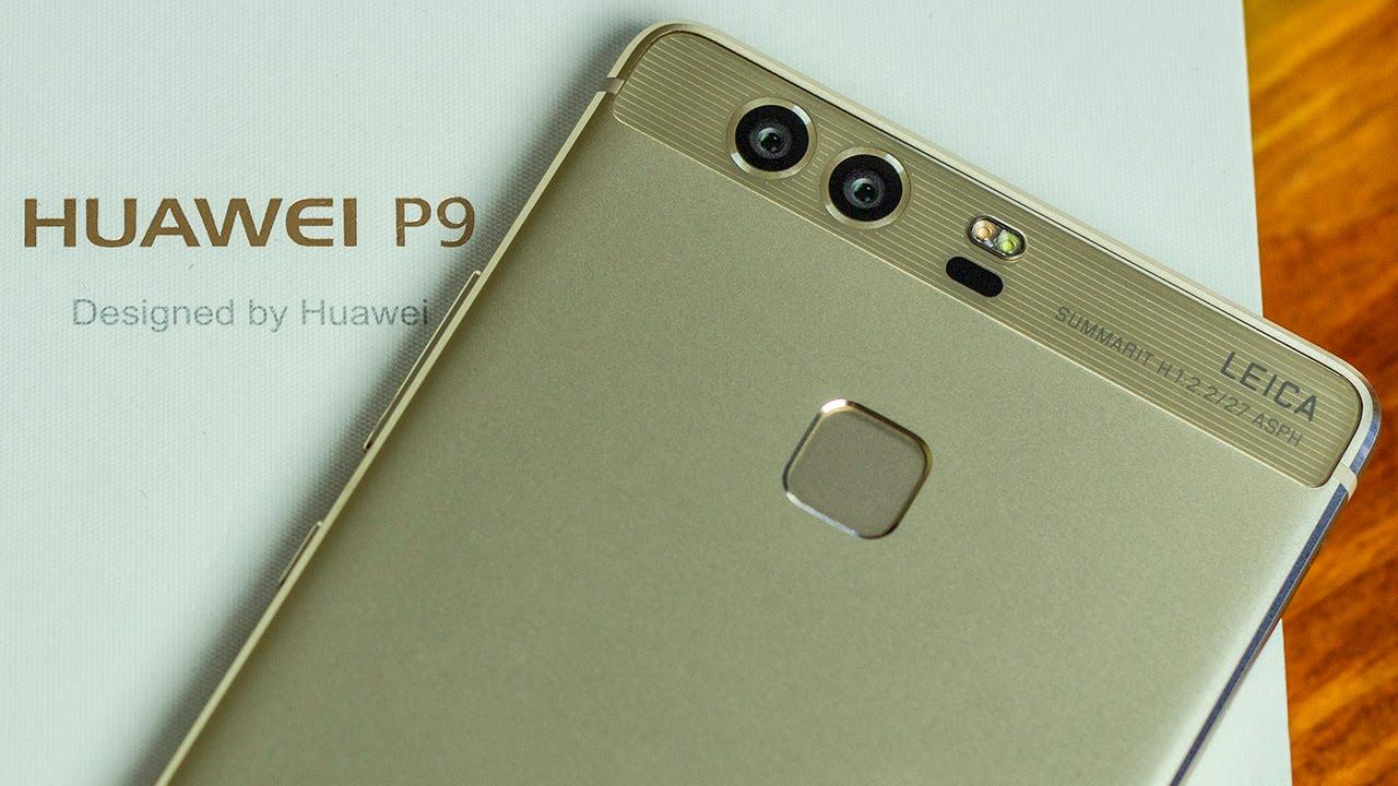 Обзор смартфона Huawei P9 - YouTube