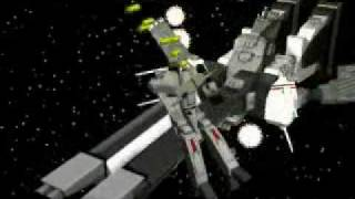 Robotech Game Intro - Fan video