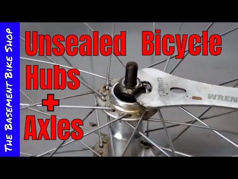 Repairing Unsealed, Loose Ball Bearing Bicycle Hubs- BMX Axle Replacement