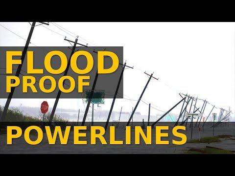 Harden Powerline Infrastructure | New Flood-proof Powerline Foundations by APE