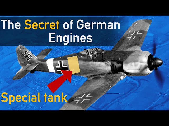 The Secret Behind German Engine Performance: GM-1 and MW-50