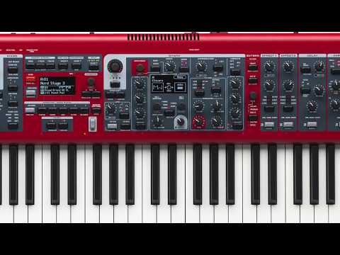 Matt Cossey Tutorial Series: Nord Stage 3 - Synth Section