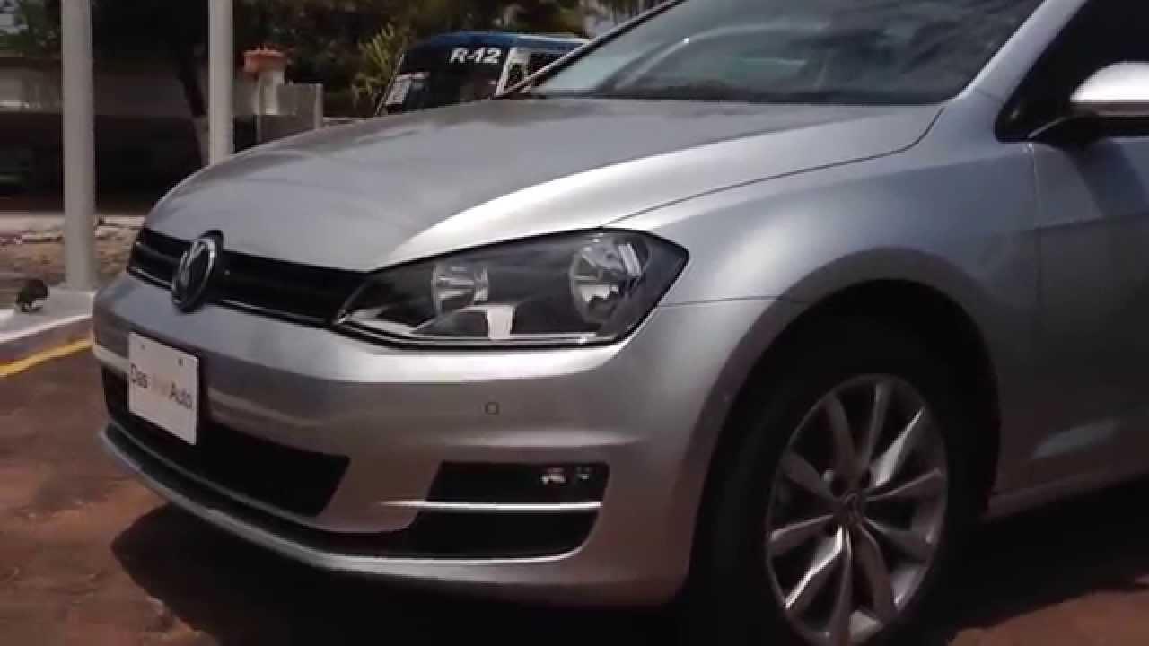 015e39e079f6 Volkswagen golf DSG COMFORTLINE ASISTENCE SPORT 2015 - YouTube