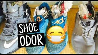 How to Remove Odors From Shoes