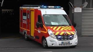Sapeurs Pompiers Bordeaux SDIS 33 Ambulance