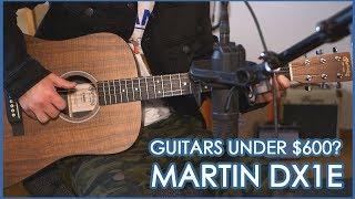 Martin DX1e Koa 2019 Review   Awesome Acoustic Guitar Under 600