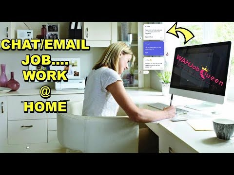 ONLINE CHAT/EMAIL SUPPORT JOB - FULL TIME - WORK AT HOME!