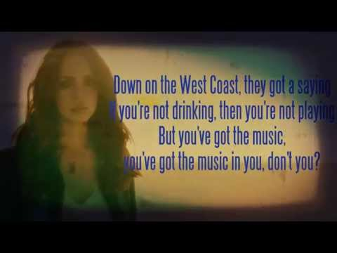 Lana del Rey - West Coast [Karaoke/Instrumental] with lyrics