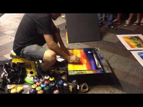 Madrid Spray Paint Artist, Part 1