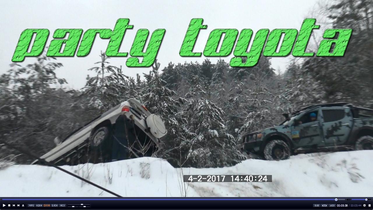 Тойота ландкрузер переворот был близок !Смотреть до конца!