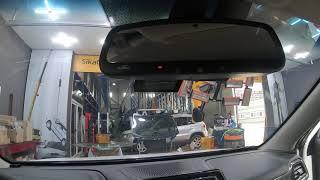 쌍용자동차 티볼리 차량 전용 하이패스룸미러를 신차량에 …