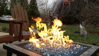 Home Made Propane Fire Pit
