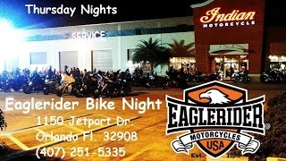 Bike Night at Eaglerider Orlando