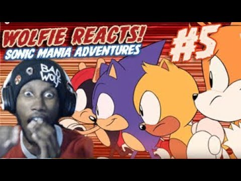 Wolfie Reacts: Sonic Mania Adventures Part 5 - Werewoof Reactions
