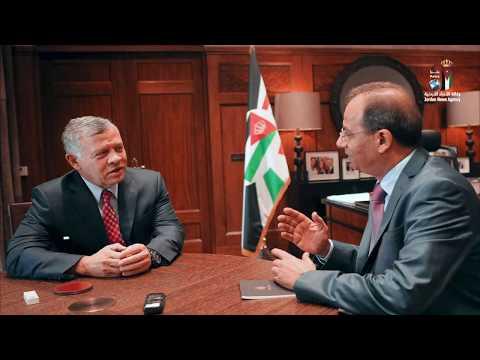 جلالة الملك يتحدث لوكالة الأنباء الأردنية (بترا )