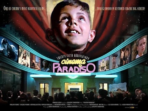 Cinema Paradiso Official 25th Anniversary trailer from Arrow Films