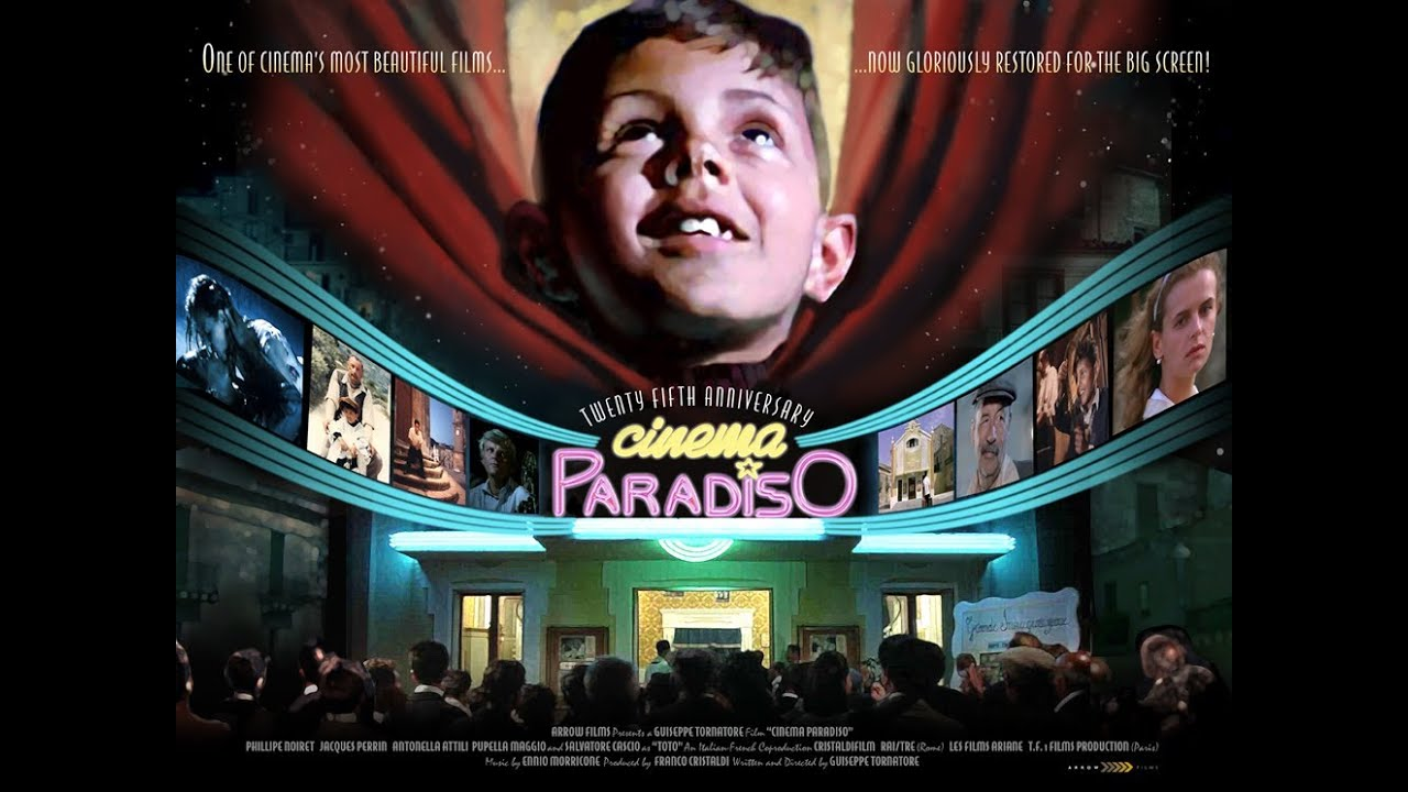 Cinema Paradiso Official 25th Anniversary trailer from Arrow Films - YouTube