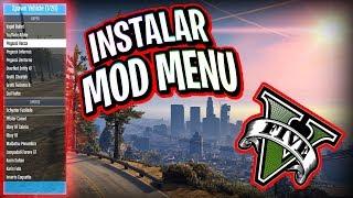 Gta 5 PC como instalar mod menu / Mod Gta V 2018