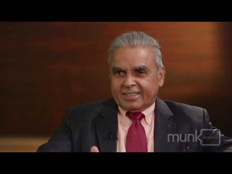 Kishore Mahbubani Pre-debate interview