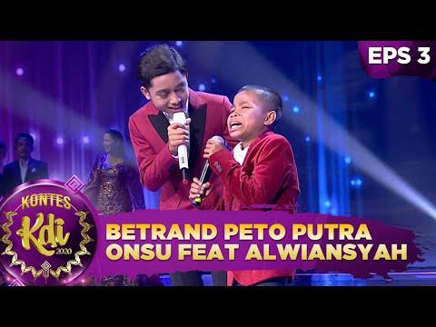 Sukaa! Betrand Peto Putra Onsu Kolaborasi Bareng Bocah Viral Alwiansyah - Kontes Kdi 2020 (17/8)