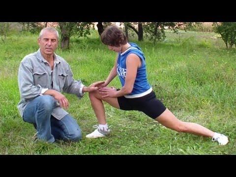 Как сесть на шпагат: упражнения
