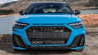 RALLY THEME! New 2019 AUDI A1 40TFSI - New color, white wheels, black pack + logos