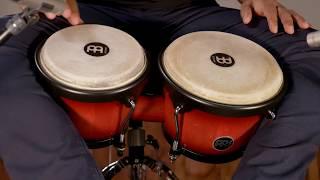 MEINL Percussion Latin Styles on Bongos - HB100WRB