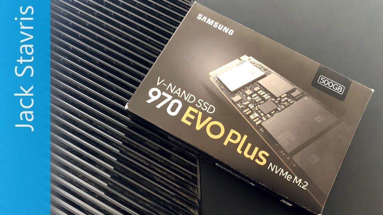 Main PC Upgrade: Samsung 970 EVO Plus NVMe SSD