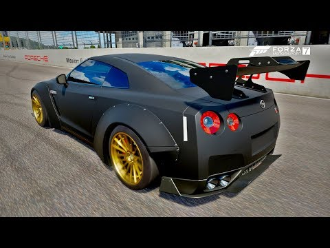 Acelerando Forte Um Nissan GT-R Totalmente Preparado Na Pista Mais Insana Do Mundo - Forza 7