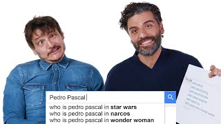 Oscar Isaac & Pedro Pascal Answer the Web's Most Searched Questions | WIRED