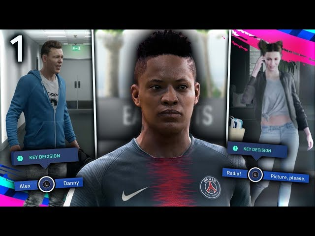 FIFA 19 THE JOURNEY Episode #1 - HUNTER vs. WILLIAMS!  (The Journey Full Movie Series)