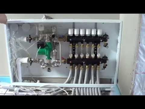 видео: еще пример отопления коттеджа (площадь 160м^2)