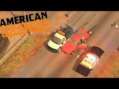Escapei da prisão, jogo estilo Gta 1! American Fugitive |