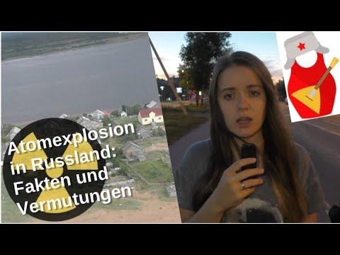 Atomexplosion in Nordrussland: Fakten und Vermutungen