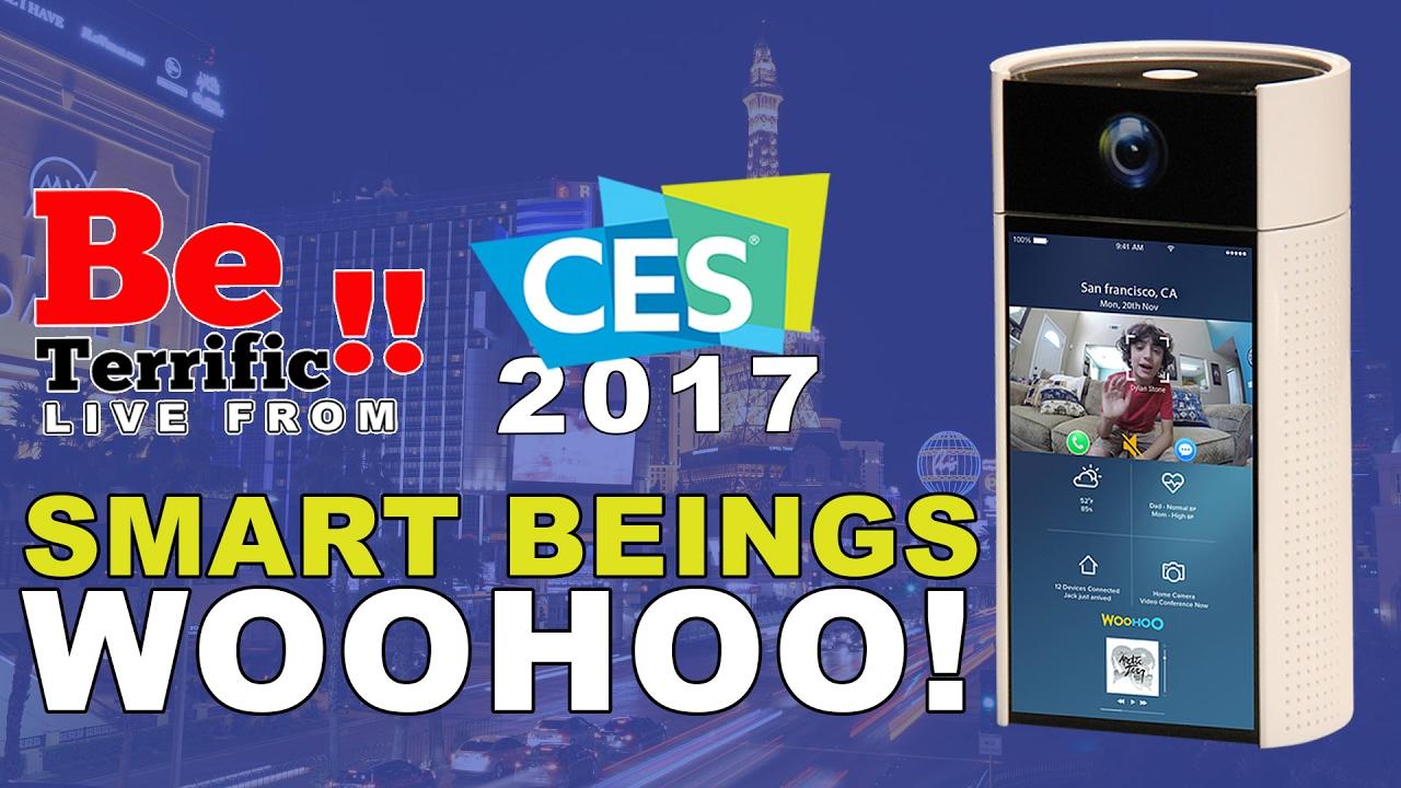 Smart Beings Woohoo Smart Hub at CES 2017 on BeTerrific!!