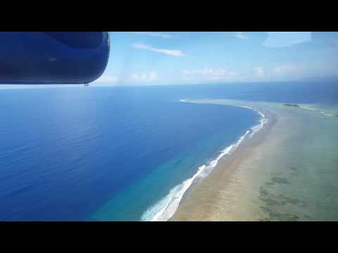 Landing at Gizo, Solomon Islands (Nusatupe Airport) - 2 May 2016