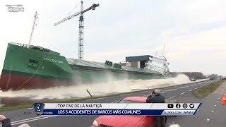 Gambar cover Esloras Tv Los 5 accidentes de barcos más comunes