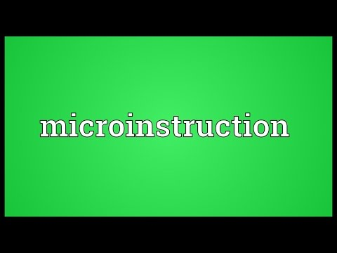 Header of microinstruction