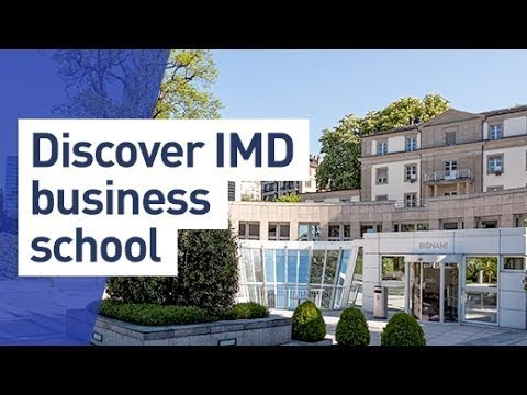 Discover IMD business school